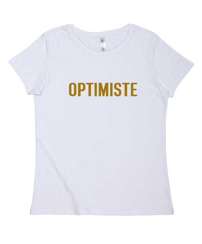 """T-krekls """"OPTIMISTE"""""""