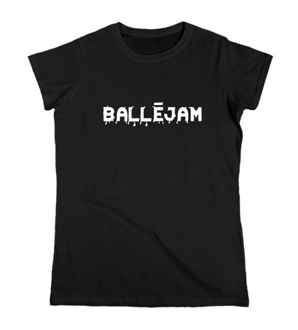 """Sieviešu T-krekls """"Ballējam"""""""