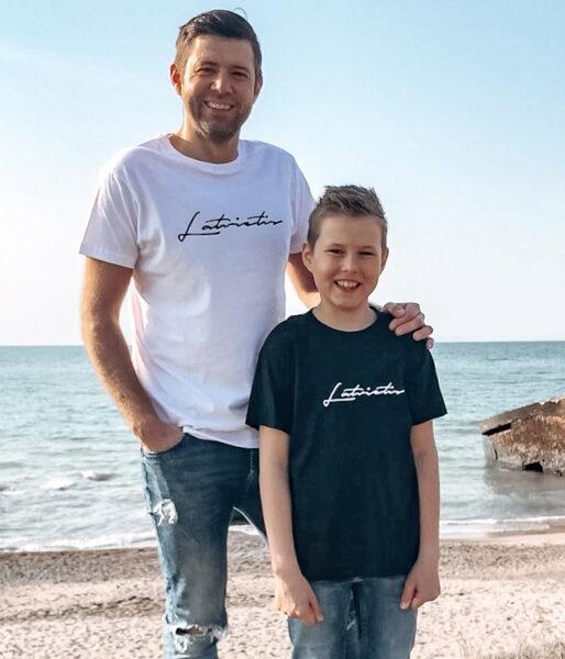 """Ģimenes T-kreklu komplekts """"Latvietis"""""""