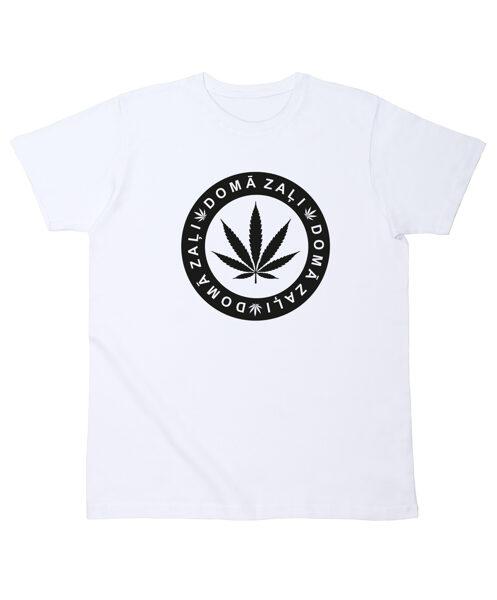 """Vīriešu T-krekls """"Domā Zaļi"""""""