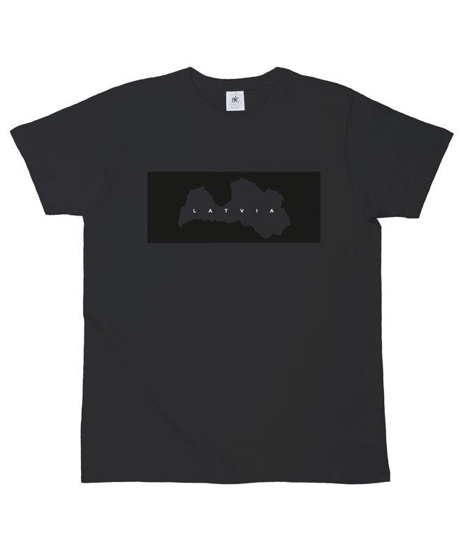"T-krekls ""Latvijas karte"""