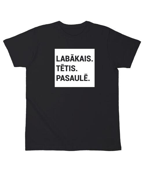 """T-krekls """"Labākais Tētis Pasaulē"""""""