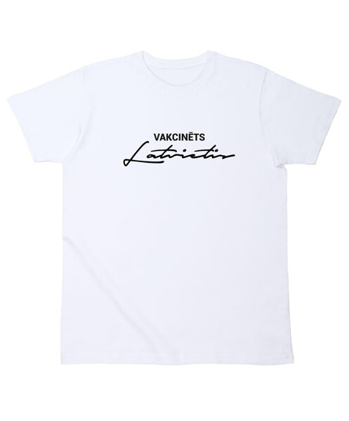 """T-krekls """"Vakcinēts Latvietis"""""""