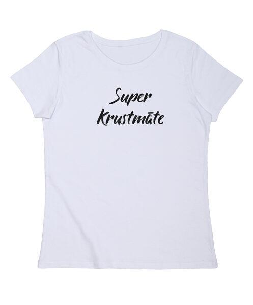 """T-krekls """"Super krustmāte"""""""