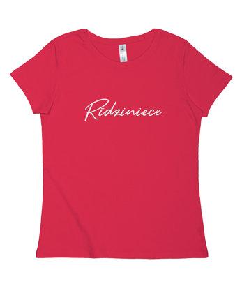 """T-krekls """"Rīdziniece"""""""