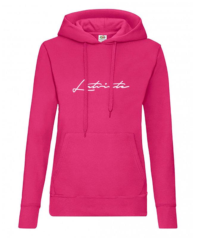 """Sieviešu džemperis ar kapuci """"Latviete"""""""